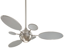 "Minka-Aire F596-BN - Cirque™ 54"" - Brushed Nickel"