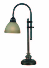 Kenroy Home 20994BH - Callahan Desk Lamp