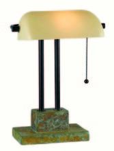 Kenroy Home 21041SL - Greenville Banker Lamp