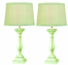 Kenroy Home 32230AWH - Renew 2-Pack Table Lamp