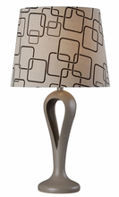 Kenroy Home 32685GRY - Parfume Table Lamp