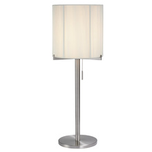 Sonneman 3349.13 - One Light Nickel Table Lamp