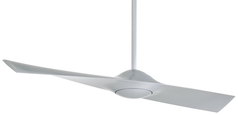 "United Lighting in Pensacola, Florida, United States, Minka-Aire F823-SL, Wing 52"" - Silver, Wing"