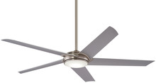 "Minka-Aire F617L-BN - Raptor 60"" - Brushed Nickel"