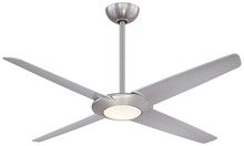 "Minka-Aire F739L-BN - Pancake XL LED 62"" - Brushed Nickel"