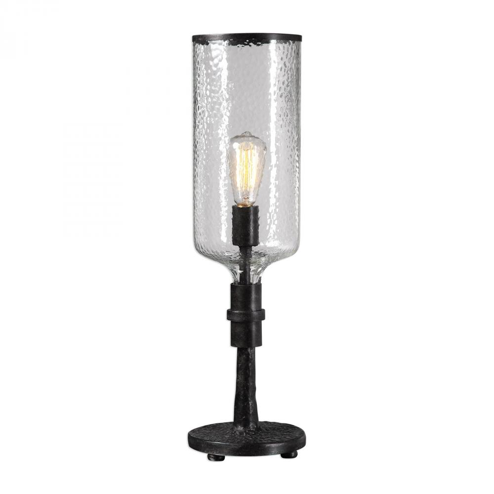 United Lighting in Pensacola, Florida, United States, Uttermost 29355-1, Uttermost Hadley Old Industrial Accent Lamp, Hadley