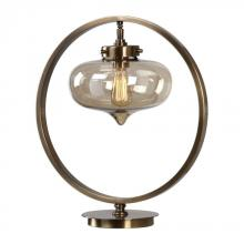 Uttermost 29358-1 - Uttermost Namura Antiqued Brass Accent Lamp