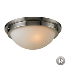 ELK Lighting 11440/2-LA - Flushmounts 2 Light Flushmount In Brushed Nickel